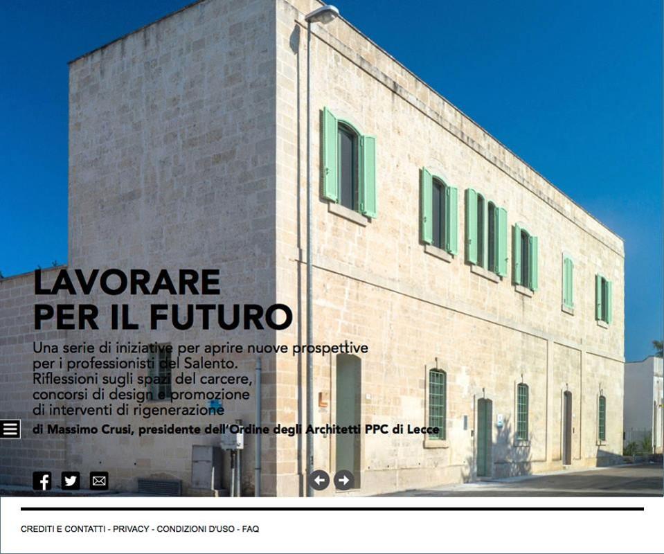 L'Architetto - Consiglio Nazionale Architetti - Settembre 2016