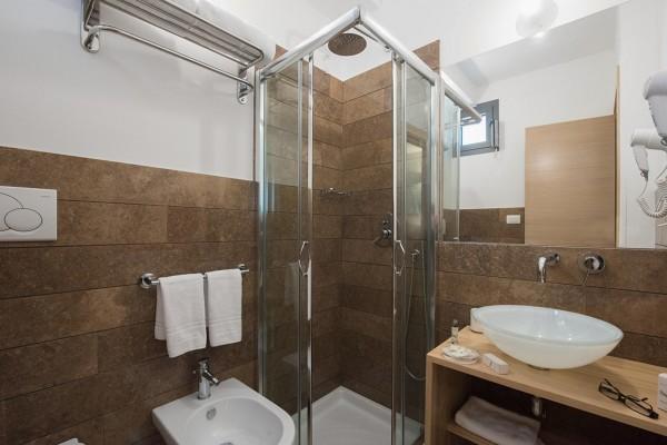 La Filanda camera BOZZOLO - bagno