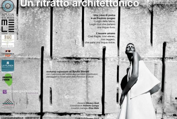 La Filanda Salento 2019-06-01-02 Un ritratto architettonico Docente Oliviero Godi